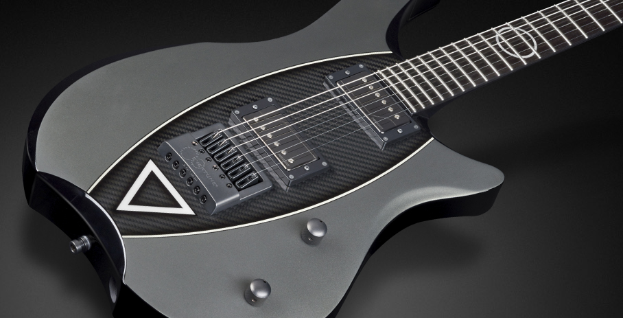 Stormbenber Devin Townsend Signature - Maple top with Carbonfiber Inlay
