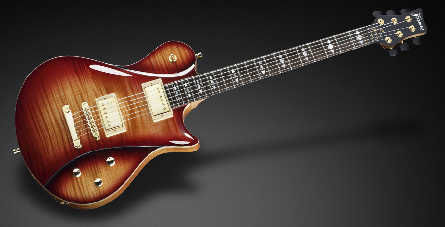 Panthera II Supreme - AAA Flamed Maple top