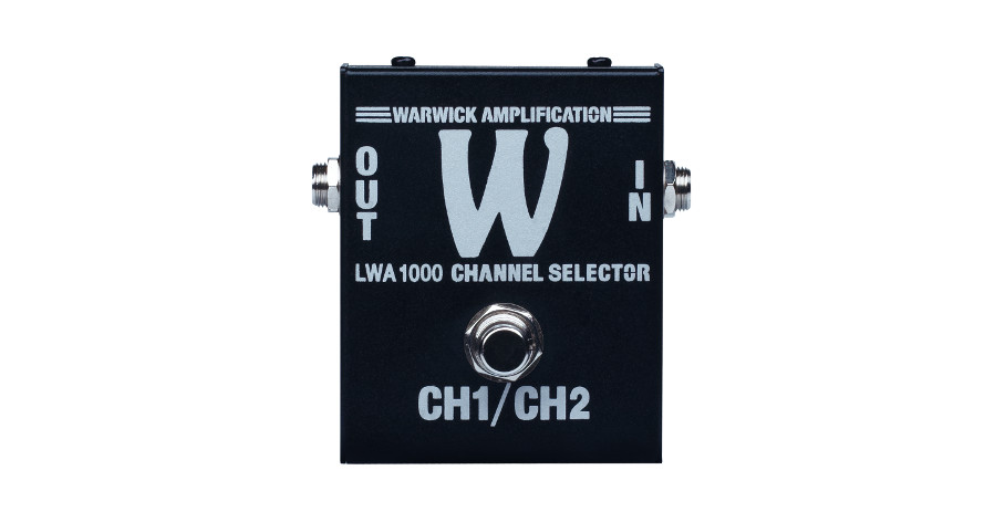 W A LWA 1000 SILVER - Channel Footswitch