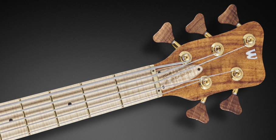 Katana NT #17-3421 - Matched Headstock