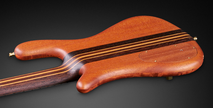 Streamer Stage II #18-3890 - Wenge Neck and Mahogany Back