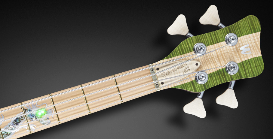 Streamer LX #16-3283 - Matched Headstock and laquering