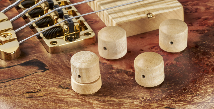 Streamer Stage II #17-3615 - Flamed Maple Control Knobs