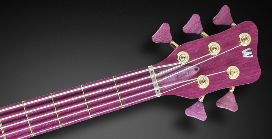 Streamer Stage I #16-3147 - Matched Headstock and Purple Heart Fingerboard