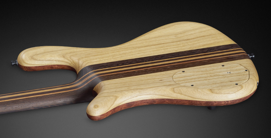 Streamer Stage II #16-3280 - Dark Wenge Neck and Swamp Ash Back