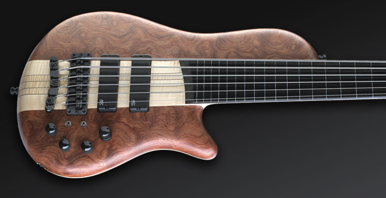 Thumb SC - #1224 - Fretless with Full Lines fingerboard inlay
