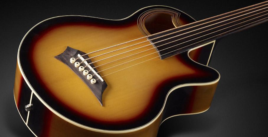 En Warwick Products Acoustic Bass Guitars Alien