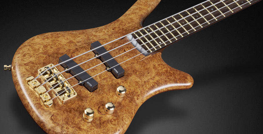 Thumb NT 4 Ltd 2017 - 35th Anniversary - Highly Figured Maple Burl Top wood and EMG PU