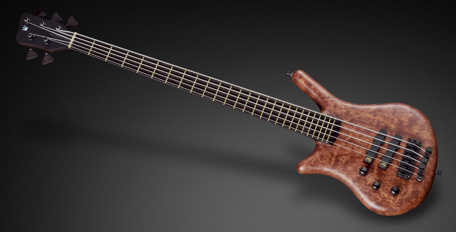 Thumb Bass NT 5 - Natural Oil Finish - Lefthand
